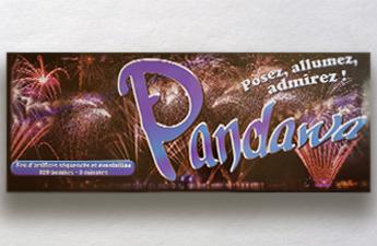 feu d'artifice automatique pandawa